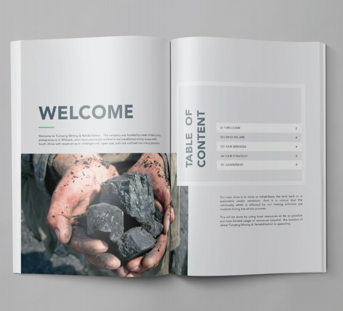 10 Company Profile Layout Design Examples We Ve Created Bwd