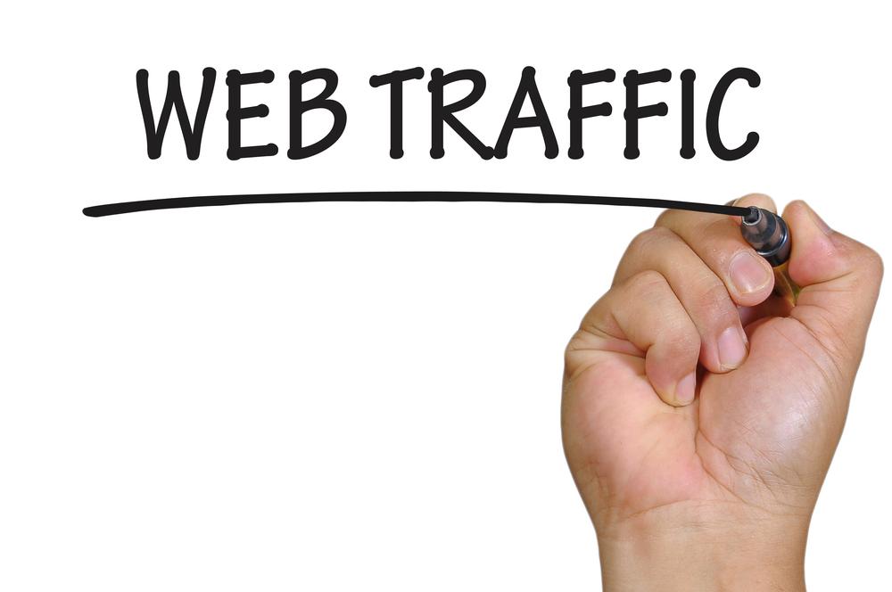 Hand written Website Traffic