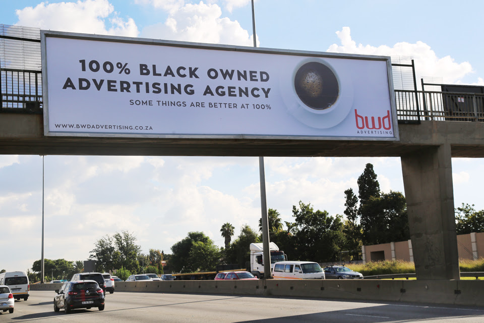 Check out our new billboard on corner Willian Nicol & Sandton drive.