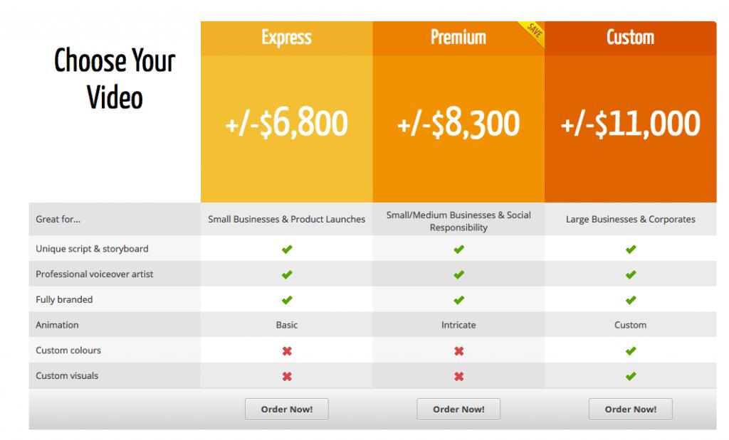 Video Animation Pricing – Breeze Website Designers