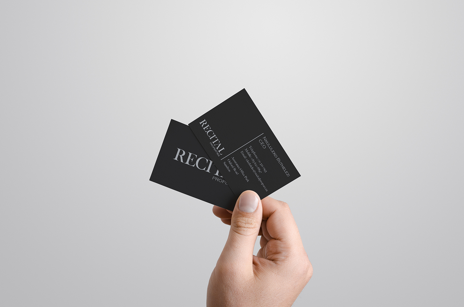 Recital-Business-cards