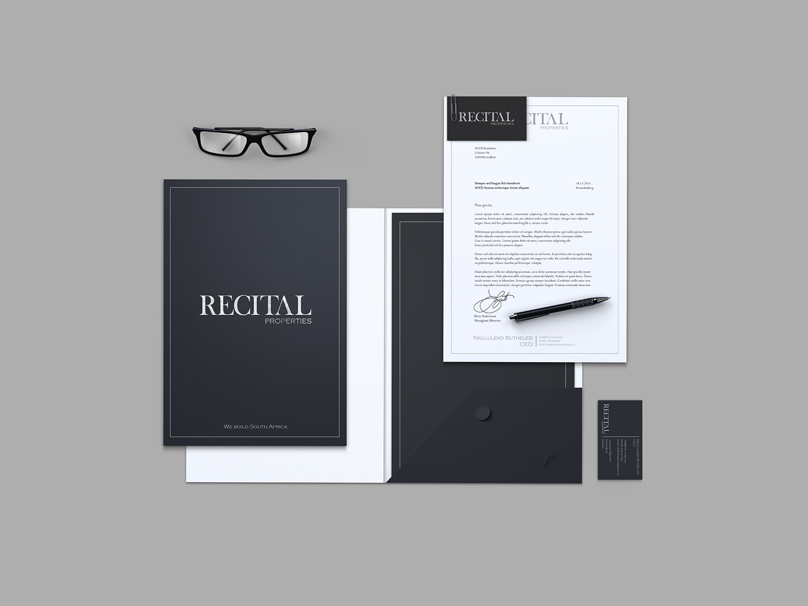 Recital Stationary